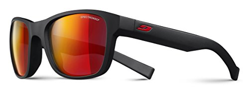 Julbo Kids Sunglasses - Julbo Kid's Reach L Sunglasses, Matte Black, Spectron 3+ Lens, 10-15 Years