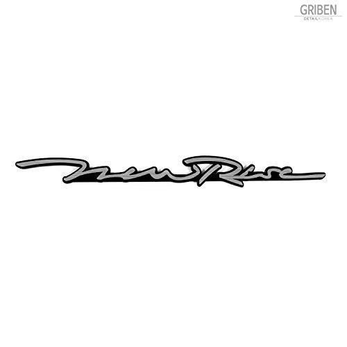 Griben Car Slogan Emblem Sliver Badge 30254 for Hyundai Sonata New Rise 2017~
