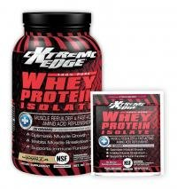 BlueBonnet Extreme Edge Whey Protein Isolate Powder, Atomic Chocolate, 2 Pound - Edge Protein