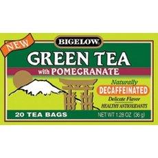 Bigelow Tea Decaf Green Pomegranate 20 Bags (Pack of 3)
