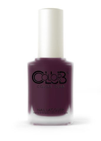 Color Club PLUM-P AND JUICY .5 fl oz Matte Finish Nail Lacquer-from the new Matte Rouge Collection by Color Club