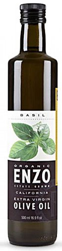 Enzo Olive Oil Co. Enzo's Table Organic Extra Virgin Olive Oil Basil -- 8.5 fl oz