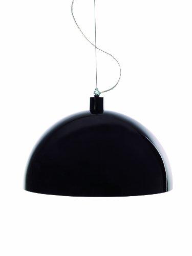 Noir 50 cm Aluminor - DOME RS N - Suspension - 40 W - E27 - Noir