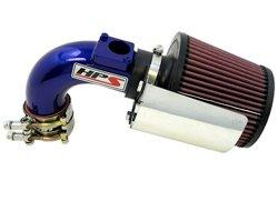 HPS 27-165BL Blue Shortram Air Intake Kit Cool