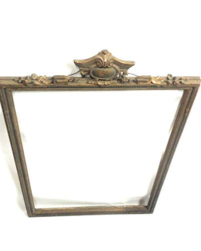 19th Century Wood Beaded Picture Frame