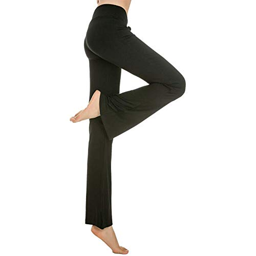 Mujeres Pantalones De Yoga Cintura Alta Entrenamiento ...