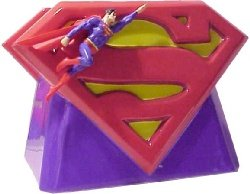 - Superman Logo Limited Edition Ceramic Cookie Jar