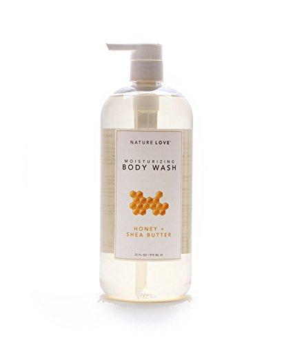 Nature Love Body Wash Honey + Shea Butter
