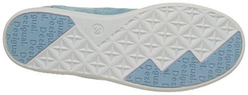 Desigual Shoes_candem y, Zapatillas de Running Mujer Azul (5006 Jeans)