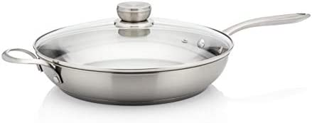 Frigidaire 11FFSPAN13 Ready Cook Cookware, 12 in, Stainless Steel