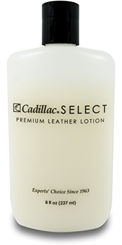 Cadillac Select Leather Lotion Cleaner and Conditioner- For Handbags, Sofas, Jackets, Furniture, Purses, and More