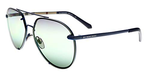 Burberry Women's 0BE3099 Blue/Gradient Green One Size (Burberry Farbe)