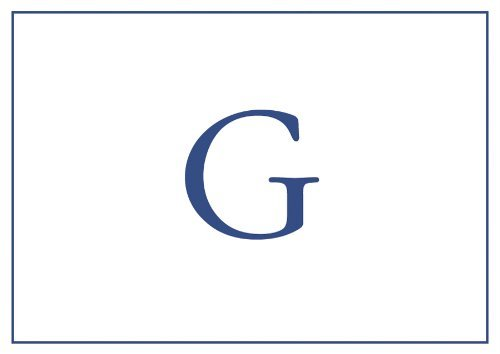 Thank You Notes Personalized Stationery Note Cards Monogrammed Your Initial Pack of 16 Blue Letter G