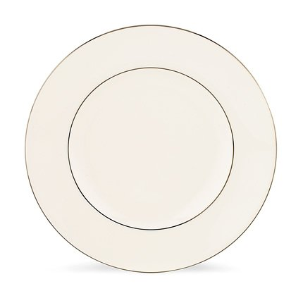 picture of Lenox Continental Dining Platinum Bone China Accent Plate, 9-Inch
