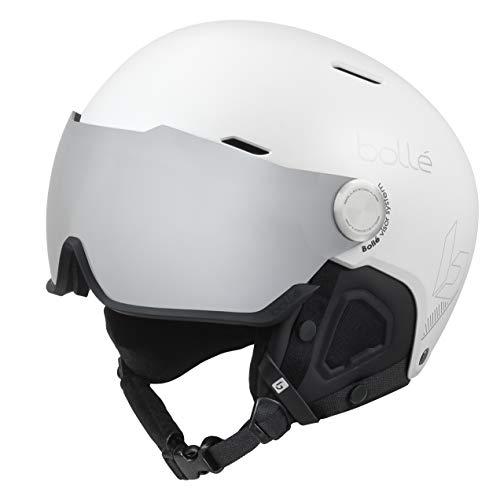 Bollé Unisex – Erwachsene Might Visor Skihelme White 52-55 cm