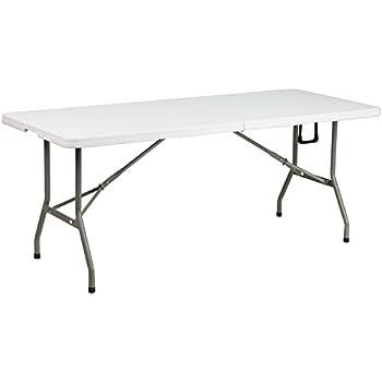 Flash Furniture 30u0027u0027W X 72u0027u0027L Bi Fold Granite White