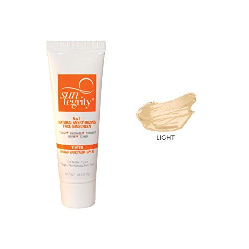 SAMPLE TUBE - Suntegrity 5 in 1 Tinted Face Sunscreen (Light)