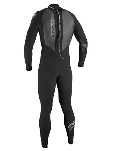 O'Neill Wetsuits Mens 3/2mm Reactor Full Suit, Black, Medium