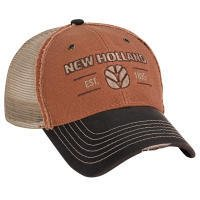 New Holland distressed canvas tractor hat est 1895 from New Holland