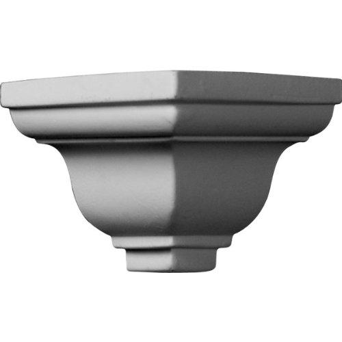 Ekena Millwork MOC02X02LY  2-Inch P x 2-Inch H Outside Corner for Molding (Installing Crown Molding Inside Corner)