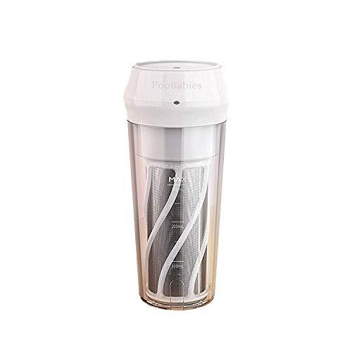 Personal Blender, PopBabies Portable Blender, Fruit Juicer Travel Blender for Shakes and Smoothies, Cup Blender USB rechargeable with Filter