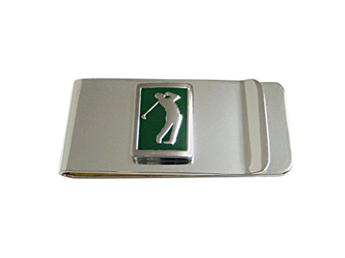Golf Money Clip - Green Golf Pendant Money Clip