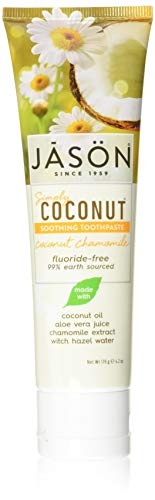 Simply Coconut Soothing Toothpaste Chamomile