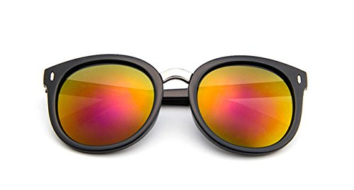 diseñador remaches Retro ZHANGYUSEN gafas de Classic sol Unisex mujer Moda mujer C7 sol C8 marca reflectante gafas de 6A6z8rq