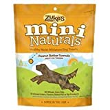 Zuke's Mini Naturals Dog Treats, Fresh Peanut Butter Formula, Pack of 1