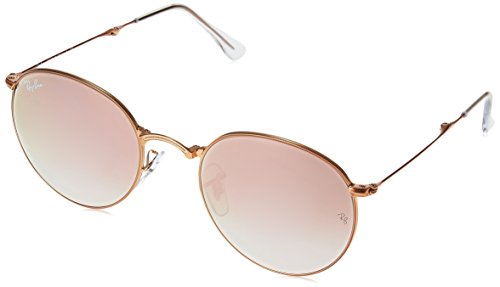 Ray-Ban-Metal-Man-Sunglasses-Shiny-Bronze-Frame-Copper-Flash-Gradient-Lenses-50mm-Non-Polarized