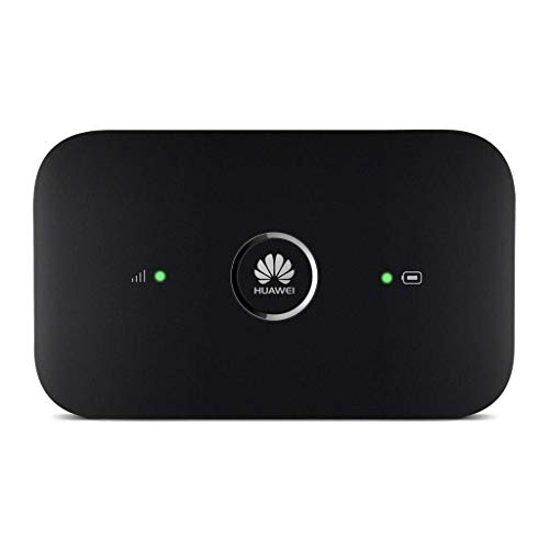 Huawei E5573Cs-322 (Black) 4G LTE Mobile WiFi Hot-Spot (4G LTE in Europe, Asia, Middle East, Africa and Partial LATAM) Unlocked/OEM/Original from Huawei Without Carrier Logo]()