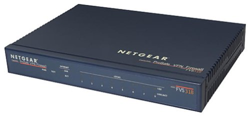 (NETGEAR FVS318 ProSafe VPN Firewall 8 with 8-Port 10/100 Switch)
