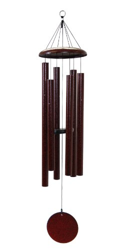- Corinthian Bells 44-inch Windchime, Ruby Splash