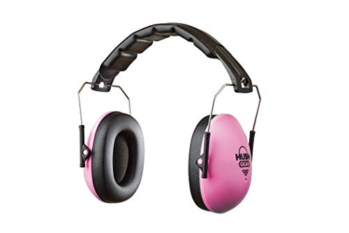 Mommys Helper Hush Gear Noise Cancelling Headphones for Kids Ear Protection Earmuffs – 28.6dB Noise Reduction for Toddler Ear Protection – Adjustable, Padded, Comfortable Fit Earmuffs for Kids, Pink