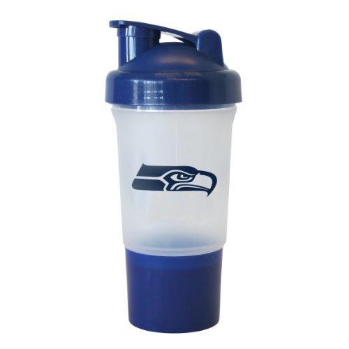 NFL Seattle Seahawks Protein Shake Bottle, (Seattle Seahawks Bottle)