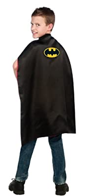 Dc Comics Reversible Batman And Superman Cape from Rubies