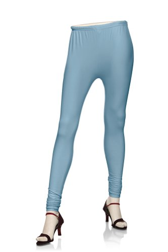 Rangmanch Womens's Indian MixNMatch leggings Sky Blue X-Small by Rangmanch