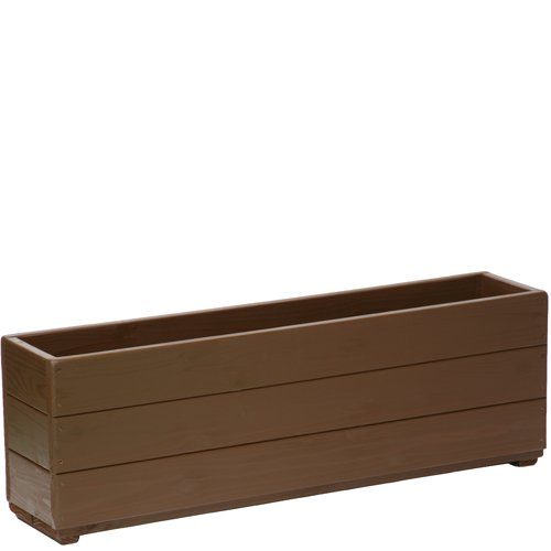 Welcome wood 深型スリムプランター90型 色はカフェブラウン(CB)  容量約34リットル B00EZ4YSCS 90型サイズ (CB)カフェブラウン (CB)カフェブラウン 90型サイズ