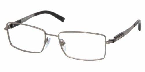Eyeglasses Bvlgari BV1035 195 MATTE GUNMETAL DEMO - Bvlgari Men Eyeglasses