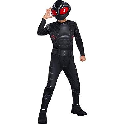 Rubie's Boys Aquaman Movie Child's Black Manta Costume, Medium: Toys & Games