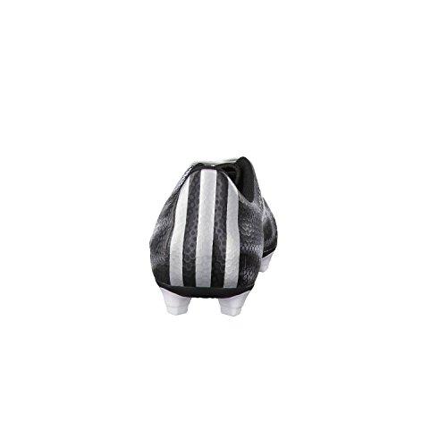stringate black core liscia uomo silver Adidas pelle silver F5 met FG met gn1qSxwW7O