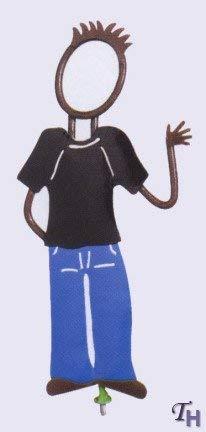 (FIGI Teen Boy - Family Matters Yard Stakes Figure)