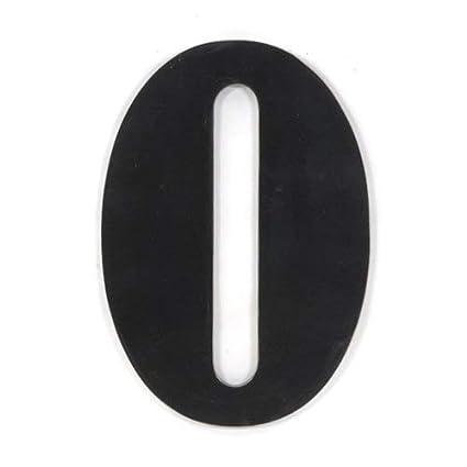 Munch 300292 Oversized Black Wood Letters O
