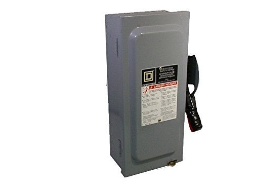 NEW IN BOX Square D HU362 HD Safety Switch Non-Fusible 600V 60A 3P - Disconnect 600v