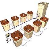 Water Farm Controller Kit - Terra Cotta (Kit of 8 Farms & (General Hydroponics Waterfarm Controller)
