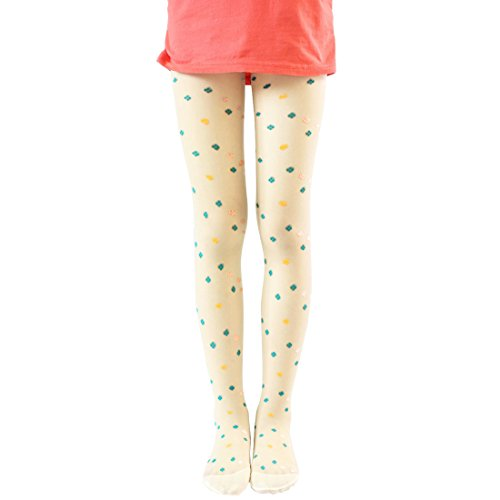 Clothing, Shoes & Accessories Honey 3 Pr Girl Footed Tights Stockings Size S Age 1-3 Pink White Black Patterns Brand