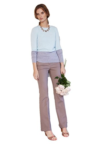 Boden Bootcut Trousers - Boden Taupe Bootcut Pants Trousers WM359 Jeans - Size US 18 L