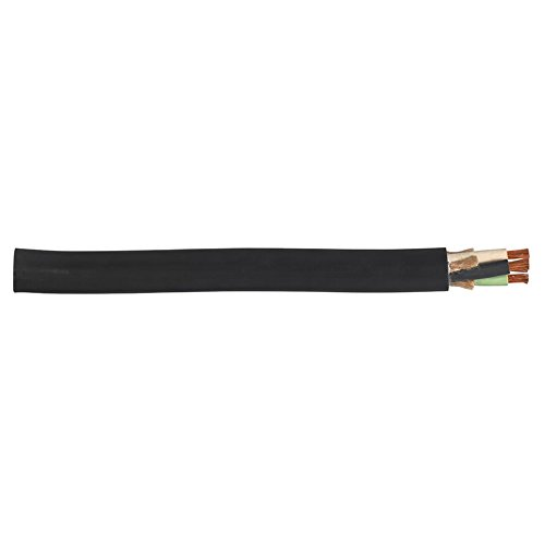 Carol 01311.35T.01 SJOOW Portable Cord, Carolprene Jacketed Type SJOOW, 90 Degree C, 300V, UL/CSA Portable Cord, 18/3 SJOOW, 300V, 250' Reel, Black by Carol