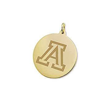 Image of Charms M. LA HART University of Arizona 18K Gold Charm