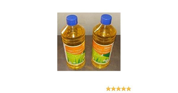 Pack 2 Botellas Aceite Parafina para Antorchas con Citronella Antimosquitos PORTES GRATIS: Amazon.es: Jardín